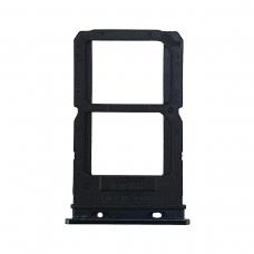 Bandeja Dual SIM/SD negra para Oppo Reno CPH1917
