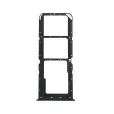 Bandeja Dual SIM+SD negra para Oppo Realme 6 RMX2001