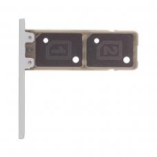 Bandeja de tarjeta Dual SIM blanca paraSony Xperia XA1 G3121