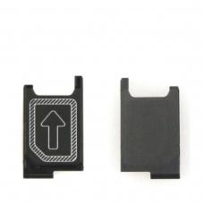 Bandeja de tarjeta SIM para Sony Xperia Z3 D6603 D6616/Z3 Dual D6633/Z3 Compact Z3 Mini D5803 D5833/Xperia Z5 Mini Z5 Compact E5823