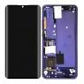 Pantalla completa con marco para Xiaomi Mi Note 10/Note 10 lite/Note 10 Pro/Mi CC9 Pro morado/bluish violet original nuevo