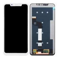 Pantalla completa para Xiaomi Redmi Note 6 Pro/Redmi Note 6 blanca compatible A