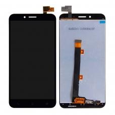 Pantalla completa compatible para Asus Zenfone 3 Max ZC553KL negra