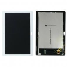 Pantalla completa para Huawei Mediapad M3 Lite 10 blanca