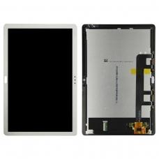 Pantalla completa para Huawei Mediapad M5 Lite 10.1 pulgadas BAH2-W19/BAH2-AL09 blanca