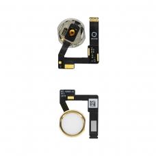 Botón de menú oro con lector de huellas para iPad Air 3 10.5 A2123