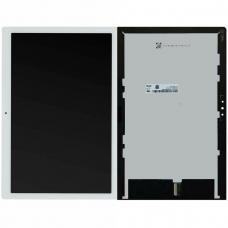 Pantalla completa para Lenovo Smart Tab M10 TB-X605L blanca