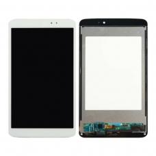Pantalla completa para LG G Pad 8.3 V500 blanca