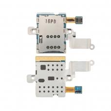 Conector con lector de tarjeta de SIM para Samsung Galaxy Note 10.1 N8000