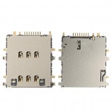 Conector de lector tarjeta SIM para Samsung Galaxy TAB 3 8.0 T310/T311