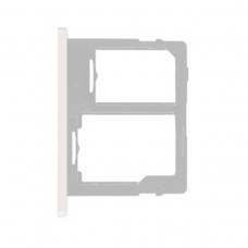 Bandeja Dual SIM/Micro SD blanca para Samsung Galaxy Tab A 2019 SM-T510/T515